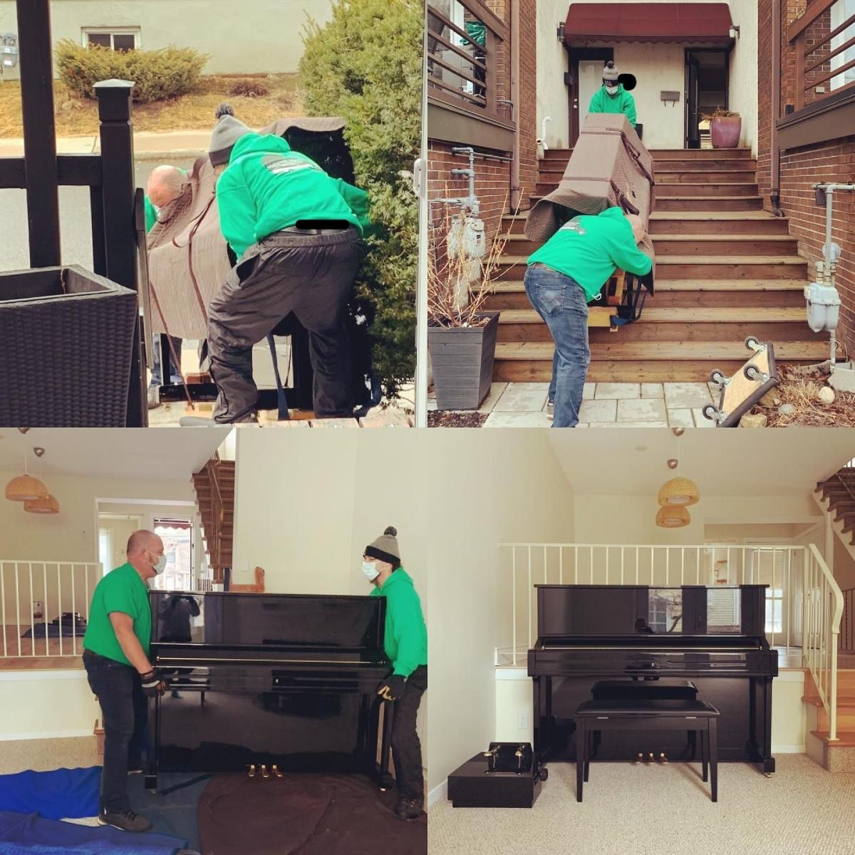 men moving the piano