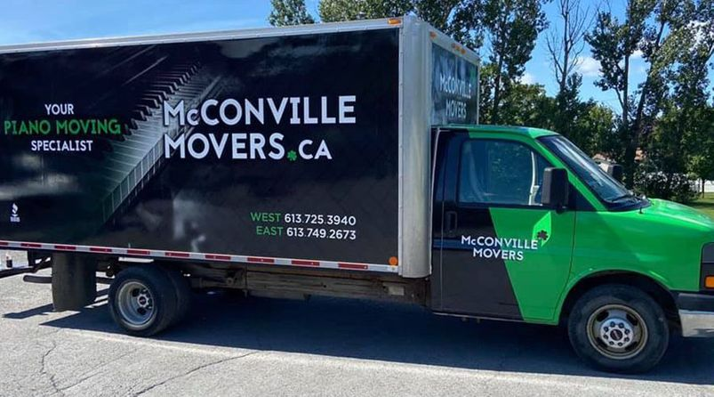 McConville Tom Movers truck